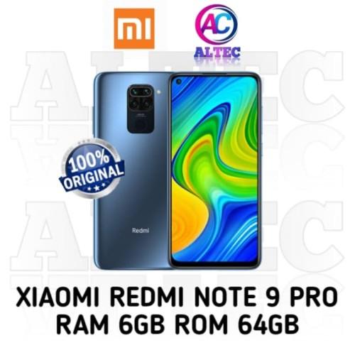 Foto Produk Xiaomi Redmi Note 9 Pro 6/64 RAM 6GB ROM 64GB GARANSI RESMI - Biru dari Altec Cellular