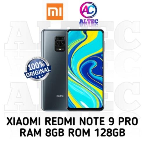 Foto Produk Xiaomi Redmi Note 9 Pro 8/128 RAM 8GB ROM 128GB GARANSI RESMI - Abu-abu dari Altec Cellular