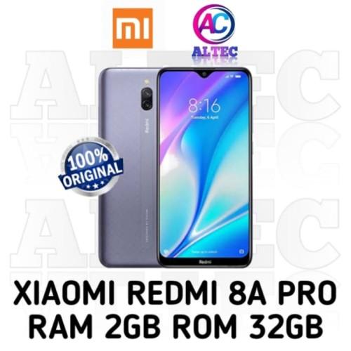 Foto Produk Xiaomi Redmi 8A PRO 2/32 RAM 2GB ROM 32GB GARANSI RESMI - Abu-abu dari Altec Cellular
