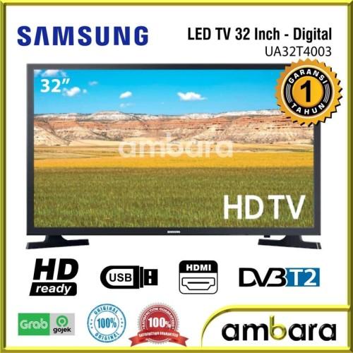Foto Produk TV LED 32 Inch Samsung 32T4003 Digital TV USB Movie HD UA32T4003 dari Ambara Collection