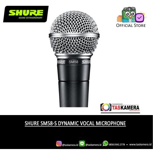 Foto Produk SHURE SM58 Dynamic Vocal Microphone - SHURE Microphone dari taskamera-id