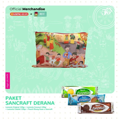 Foto Produk Paket Sancraft Derana dari Khong Guan Biscuits Shop