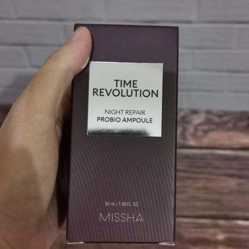 Foto Produk Missha Time Revolution Night Repair Probiotik Ampoule dari Koreanholicshop