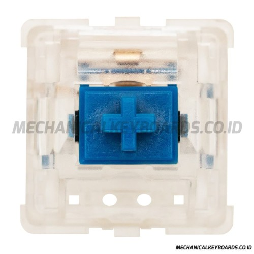 Foto Produk DUROCK Dolphin Silent Clear Switch (Linear 62g - PCB Mount) dari Mechanical Keyboards