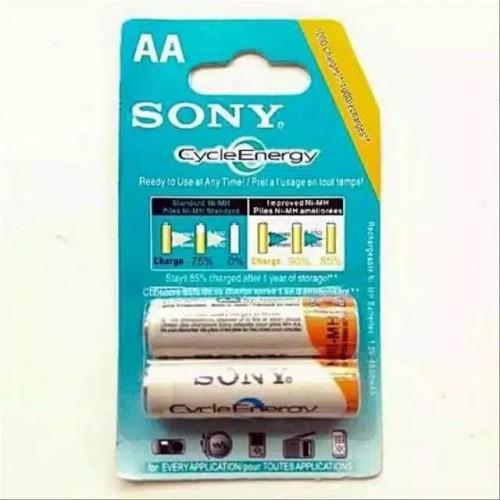 Foto Produk Baterai Cas batre Charge Sony AA 4600mAh dari Cecelala