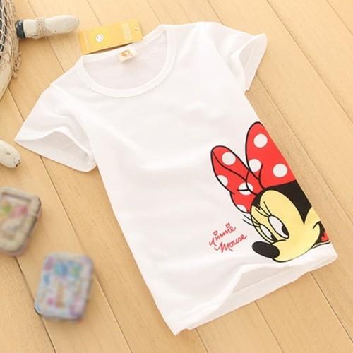 Foto Produk VB78 Minnie Mouse Kaos Anak Perempuan Ukuran 1-10thn - 1 Tahun dari VB Kids