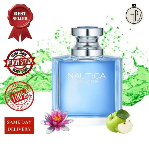 Foto Produk Nautica Voyage Men EDT 100 ml dari Gudang Parfum Impor