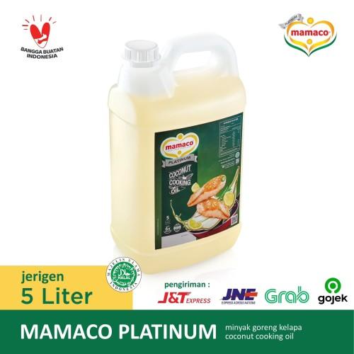 Foto Produk Mamaco Platinum Minyak Goreng Kelapa Coconut Cooking Oil Jerigen 5 Ltr dari Mamaco Coconut Oil
