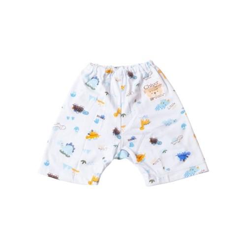 Foto Produk Celana Bayi - CHIYO - Celana Pendek Dino - Size Newborn & S 3-6 Bulan - Kuning 0-3 dari Chiyo Babywear