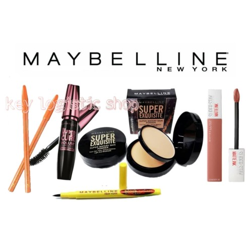 Foto Produk Paket Make Up Kosmetik Maybelline 5 in 1 dari Key_Logistic_Shop