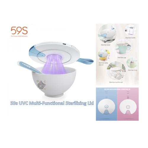 Foto Produk 59S UVC LED S8 Bottle Lid Cover Travel Sanitizer Sterilizer Baby UV dari bobo baby shop