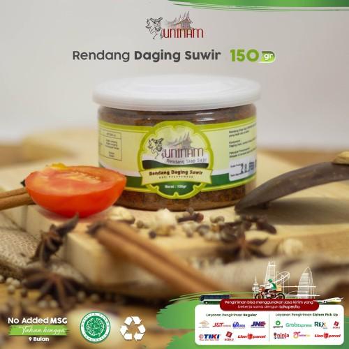 Foto Produk Rendang Daging Suir Uninam 150gr dari UniNam