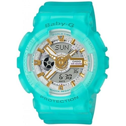 Foto Produk Jam Tangan Wanita Casio Baby-G Digital Spring And Summer BA-110SC-2ADR dari Luxolite SG Timepieces
