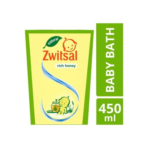 Foto Produk Zwitsal Baby Bath Natural Rich Honey 450Ml dari Raffardhan olshop