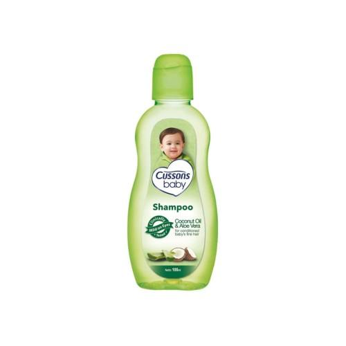 Foto Produk Cussons Baby Shampoo Natural Oil Coconut Oil & Aloe Vera 100Ml dari Raffardhan olshop