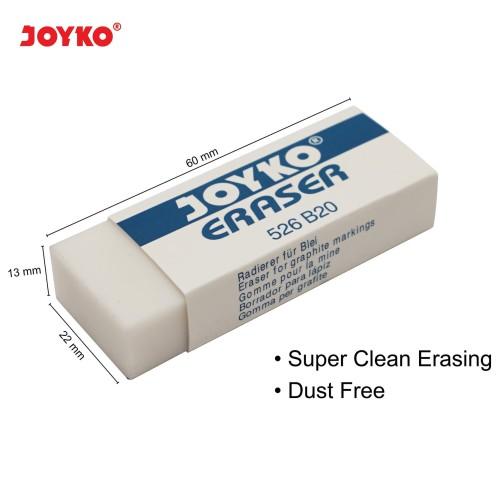 Foto Produk Eraser / Penghapus Joyko 526-B20 dari JOYKO Official