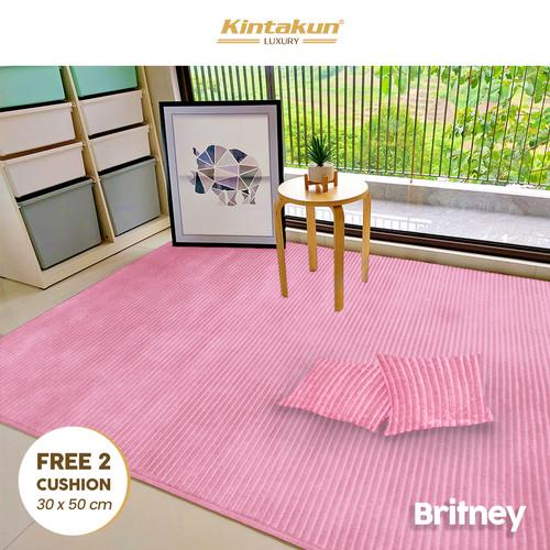 Foto Produk Kintakun KARPET Selimut 150 x 200 Luxury Halus & Lembut - Britney dari Kintakun Sprei Bedcover