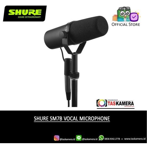 Foto Produk SHURE SM7B Dynamic Studio Vocal Microphone - Shure Microphone dari taskamera-id
