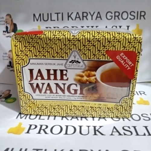 Foto Produk Jahe wangi minuman serbuk jahe wangi intra isi 20 sachet dari MULTI KARYA GROSIR