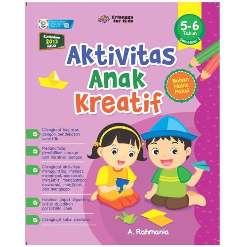 Foto Produk AKTIVITAS ANAK KREATIF USIA 5-6 TAHUN SMT.2 dari Penerbit Erlangga