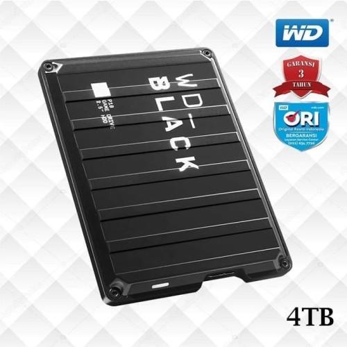 Foto Produk Hardisk Eksternal WD Black P10 4TB Game Drive - Garansi Resmi dari Gaming Plus Store