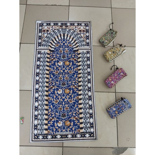 Foto Produk Sajadah Travel Tipis Tas Serut dari Toko Metta Collection