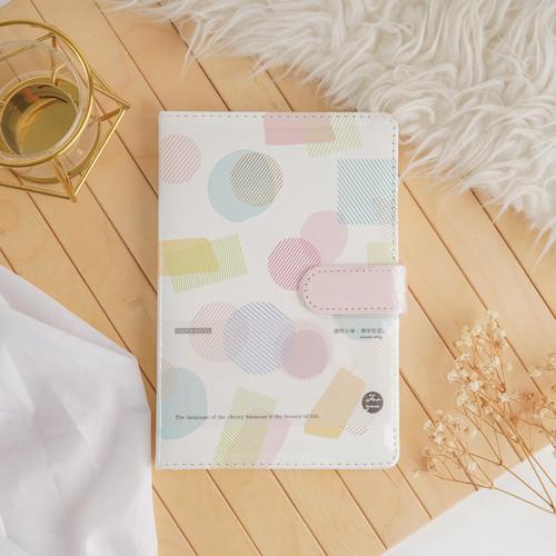 Foto Produk ARAMI Note Journal Book Agenda Planner   Buku Catatan Diary Memo Print - White Rainbow dari Arami Lifestyle