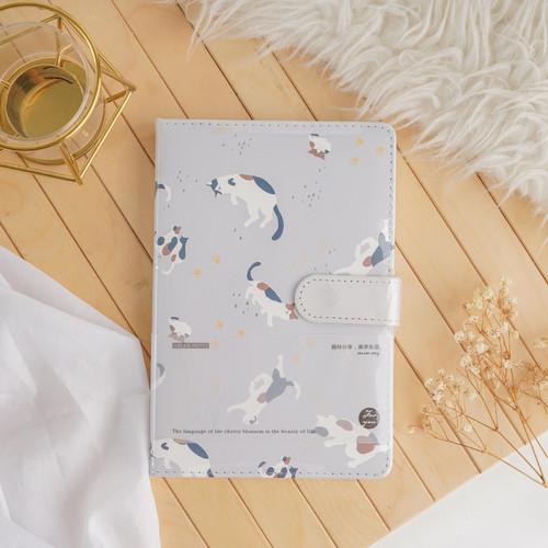 Foto Produk ARAMI Note Journal Book Agenda Planner   Buku Catatan Diary Memo Print - Brown Cat dari Arami Lifestyle