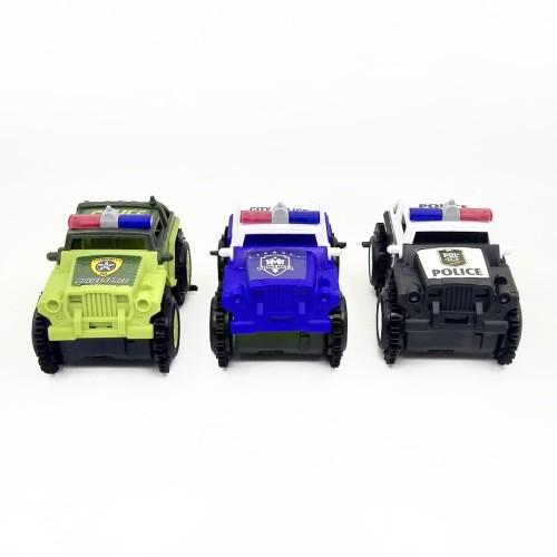Foto Produk Police Tipping Car Mainan Mobil Jungkir Balik - Hitam dari Grandia Shop