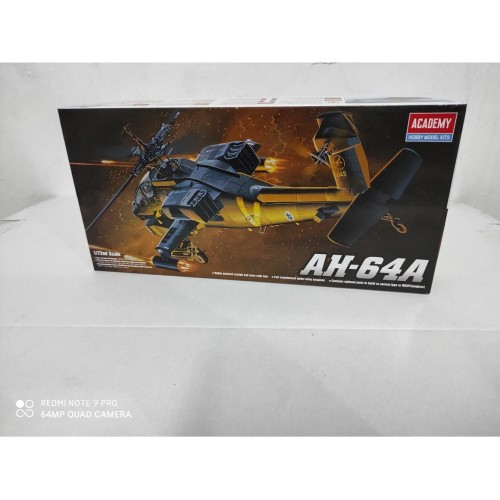 Foto Produk Mainan Rakitan ACADEMY 1/72 AH-64 Apache 12488 dari Hando_Toys