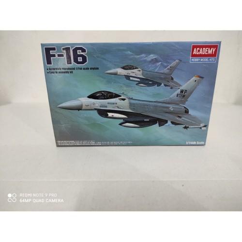 Foto Produk Mainan Rakitan ACADEMY 1/144 F-16 Fighting Falcon 12610 dari Hando_Toys
