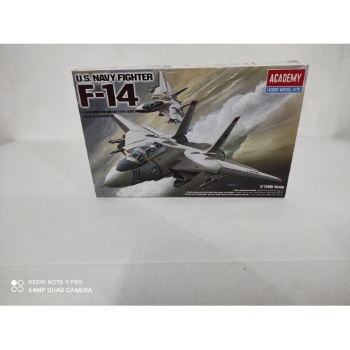 Foto Produk Mainan Rakitan ACADEMY 1/144 F-14 Tomcat 12608 dari Hando_Toys