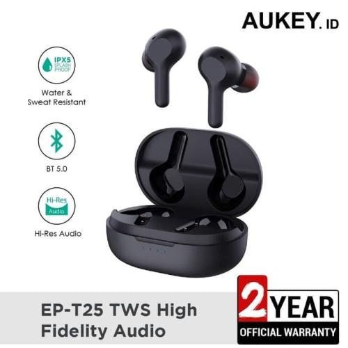 Foto Produk Aukey EP-T25 - True Wireless Earphone Bluetooth - Hitam dari Home Cell