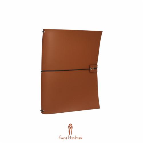 Foto Produk Midory traveler's notebook / buku catatan / custom - Biru dari Empat Pagi Handmade