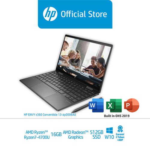 Foto Produk HP ENVY x360 13 - ay0006AU - AMD Ryzen7 4700U - 16GB -512GB SSD - W10 dari HP Official