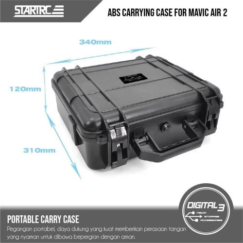 Foto Produk STARTRC Protective Hard Case DJI Mavic Air 2 Waterproof Bag Tas ABS dari digital 3