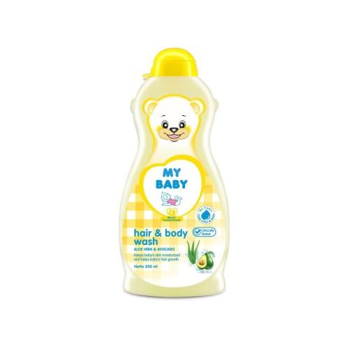 Foto Produk My Baby Hair & Body Wash 200Ml dari Raffardhan olshop