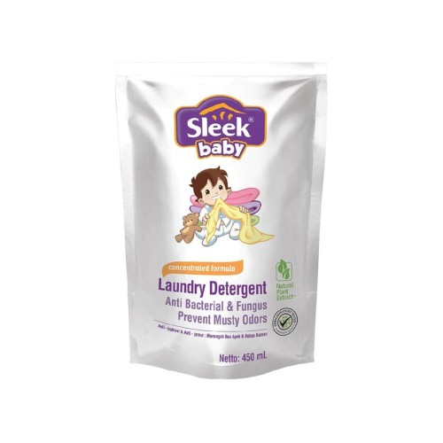 Foto Produk Sleek Baby Laundry Detergent 450Ml dari Raffardhan olshop