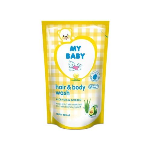 Foto Produk My Baby Hair & Body Wash Refill 400Ml dari Raffardhan olshop