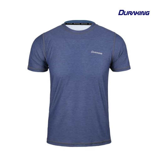 Foto Produk DK Super Light V2 (Man) T Heather Seamless Anti Viral Steel Blue - SLIM FIT, M dari Duraking Outdoor&Sports