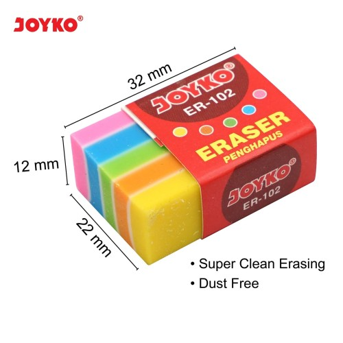 Foto Produk Eraser / Penghapus Joyko ER-102 dari JOYKO Official