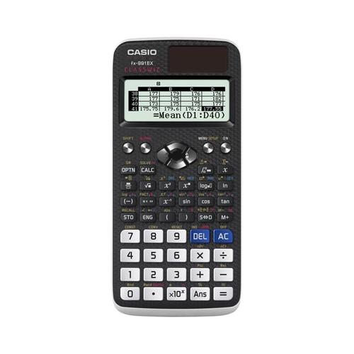 Foto Produk Casio ClassWiz Scientific Calculator FX-991EX - Hitam dari Casio Calculator