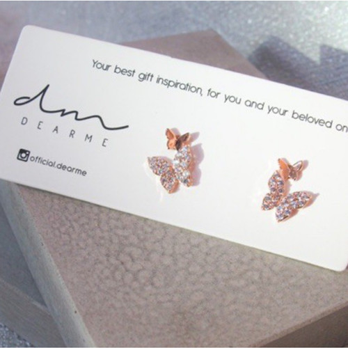 Foto Produk Dear Me - Skyla Earrings (925 Sterling Silver with 14K Gold Plating) dari Dear Me Jewelry