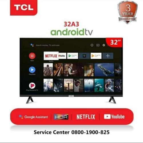 "Foto Produk TV LED TCL 32"" 32A3 SMART HD android tv dari setia mandiri"