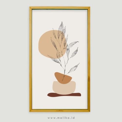 Foto Produk Hiasan Kamar Unik Abstract Nature Boho Style dari malikawallart