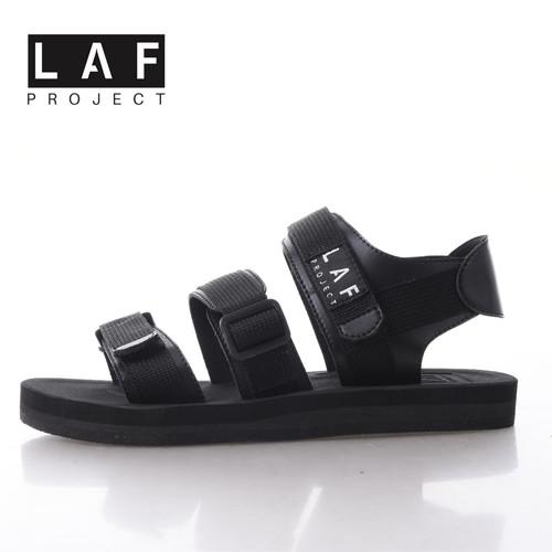 Foto Produk Sandal Gunung Pria Wanita Casual Full Black LAF Project Jack V.1 - Hitam, 39 dari LAF Project