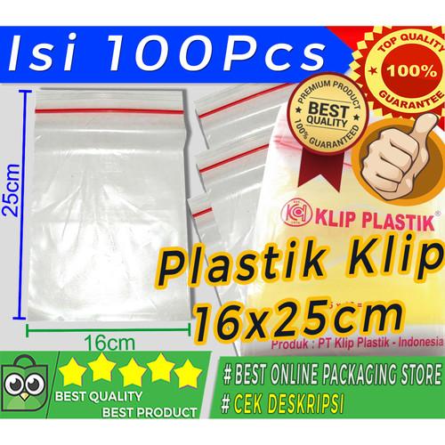 Foto Produk PLASTIK KLIP 16X25 CM TERMURAH dari Jaya Plastik
