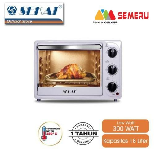 Foto Produk SEKAI Oven Listrik 18 L OV-180 dari Semeru Store Makassar