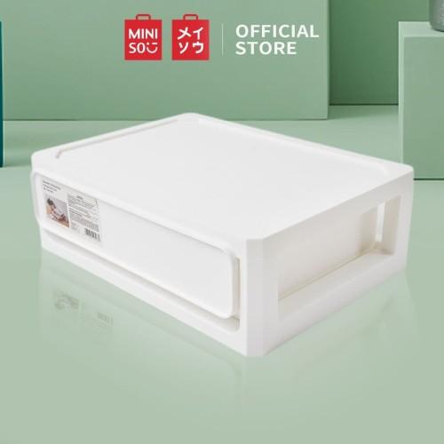 Foto Produk MINISO Kotak Penyimpanan Serbaguna Tempat Makeup Organizer Kosmetik dari Miniso Indonesia
