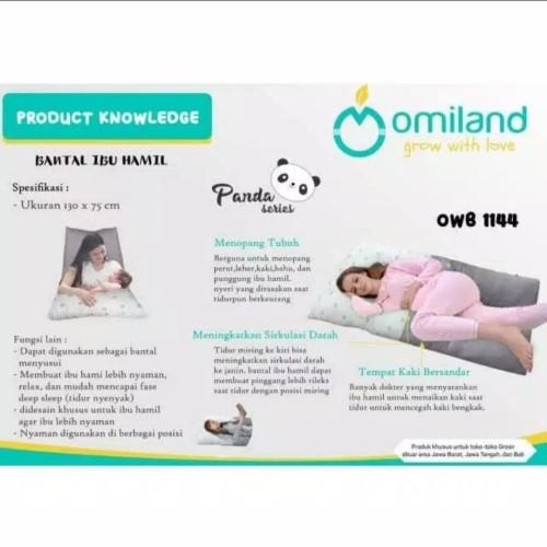 Foto Produk Omiland Bantal Ibu Hamil / Maternity Pillow - Pink Kaki dari Duniatoysbaby